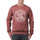 Sori Sweatshirt Heather Maroon